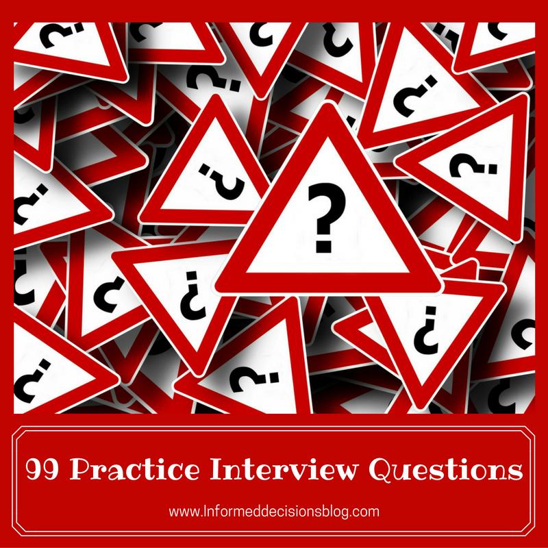 Elegant 99 Practice Interview Questions