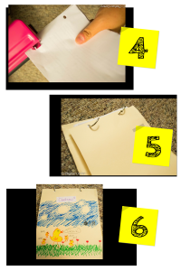 DIY_ Make Your Own Recycled Journal In 6 Easy Steps 3-6