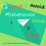 12 Ways To Avoid Misbehavior
