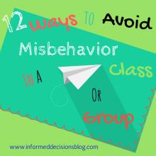 12 Ways To Avoid Misbehavior