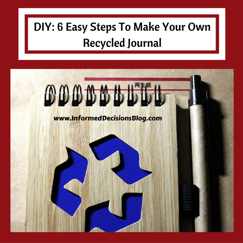 Making your own recycled journal