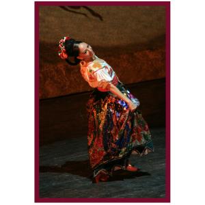 Hispanic Dancer