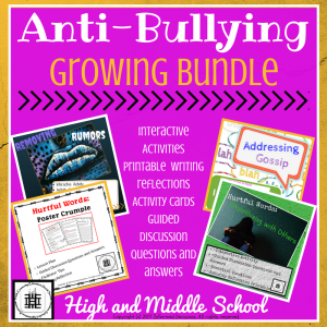 Anti- Bullying Growing Bundle