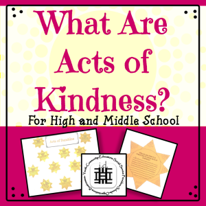 What Are Acts Of Kindness?