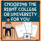 Choosing the Right College for You. College Readiness - Social Distancing